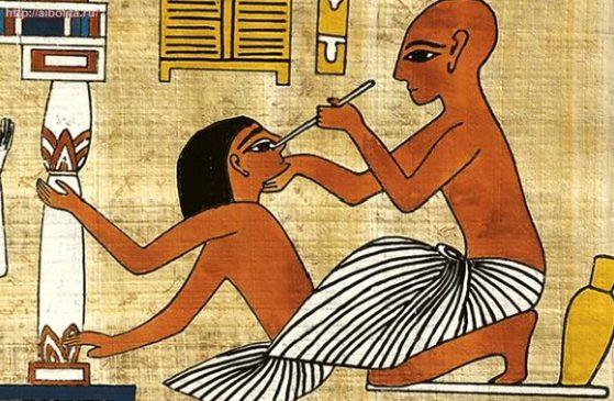 Лечение в Древнем Египте