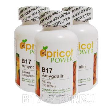 Apricot Power B17 500 мг, 100 табл. (США) х3шт