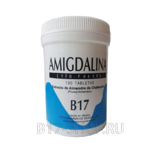 AMIGDALINA CYTO PHARMA B17, 500 мг, 100 т