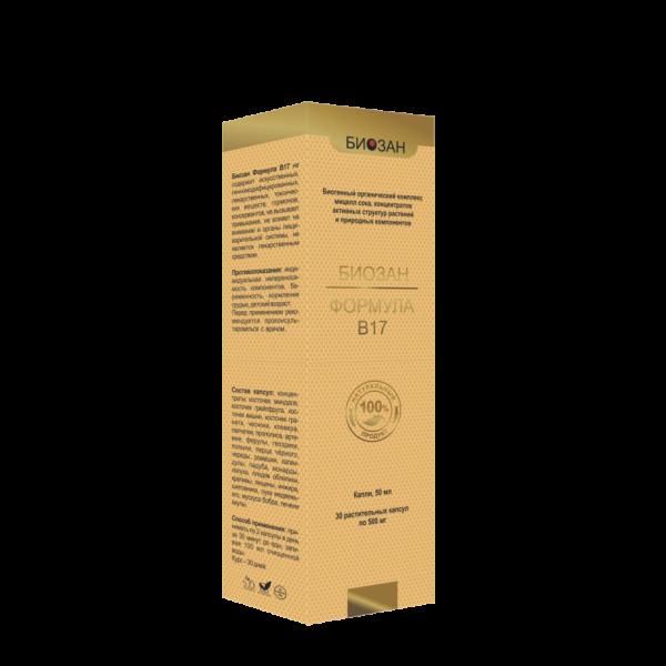Биозан Формула В17, витамин, органическое средство