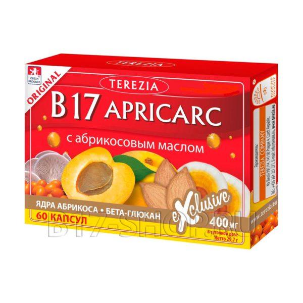 АМИГДАЛИН (витамин B17) APRICARC, 60 капс