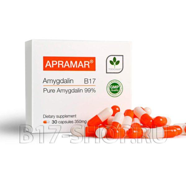 ВИТАМИН В17 АПРАМАР, АМИГДАЛИН В17, 30х300 мг